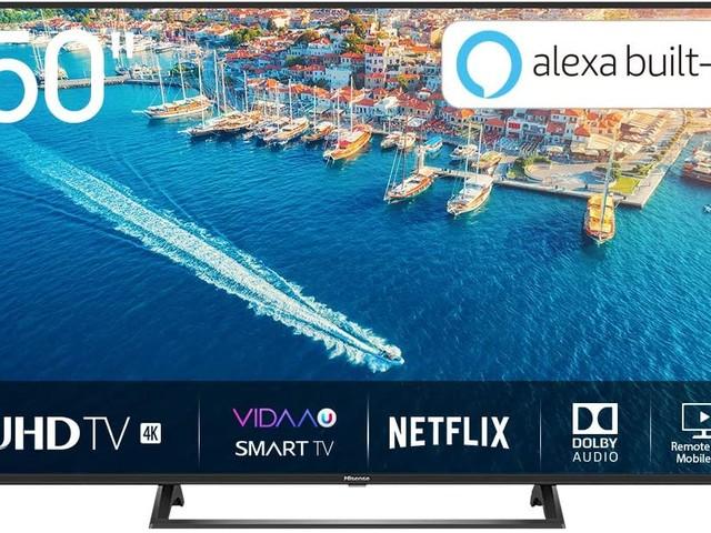 Economica TV LED smart Hisense H50B7320 da Trony: in promozione al prezzo di 329 euro
