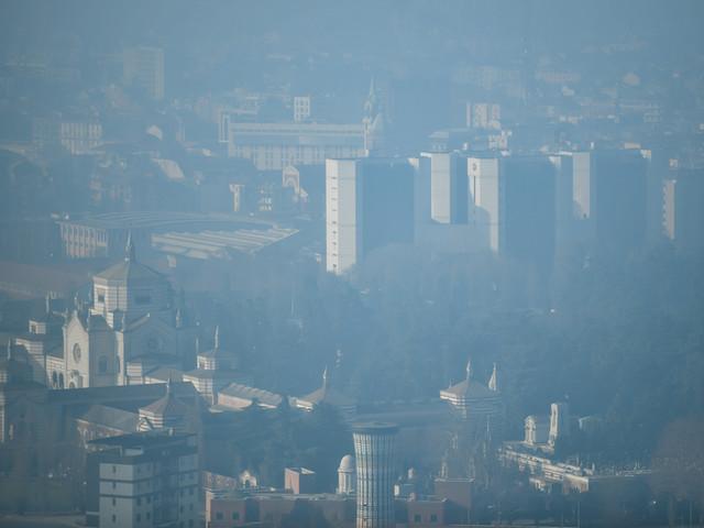 Smog Milano: livelli di PM10 alle stelle
