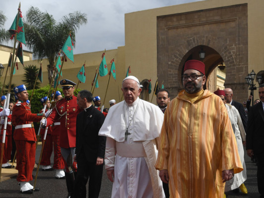 Lo storico viaggio del Papa in Marocco