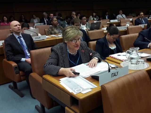 Gabriella Arrigo vicepresidente IAF