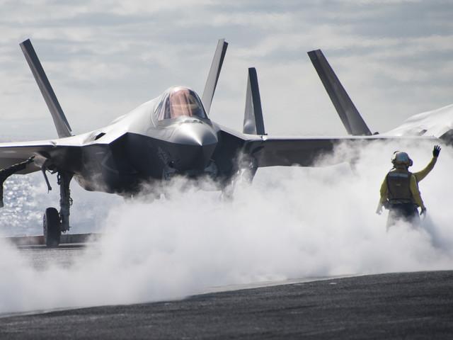 US Navy, l'F-35C è pronto per combattere