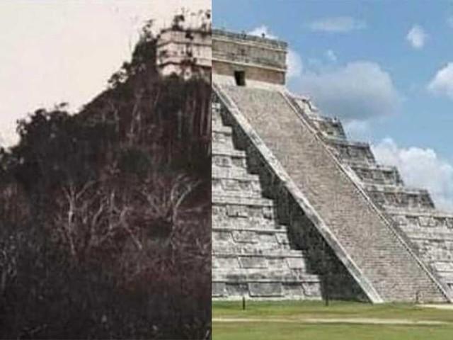La complessa identità piramidale del tempio che simboleggia lo Yucatán