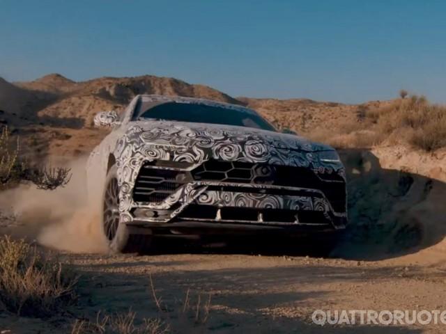 Lamborghini Urus - Nuovo teaser della modalità Terra della Suv