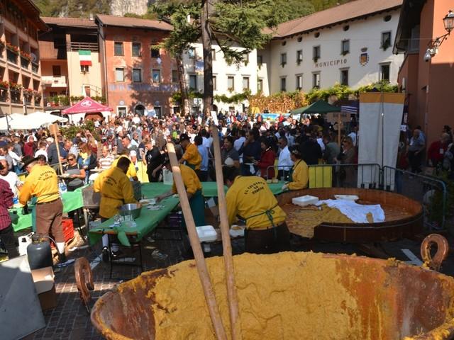 Festa della Polenta: a Storo tutto pronto per un'edizione super