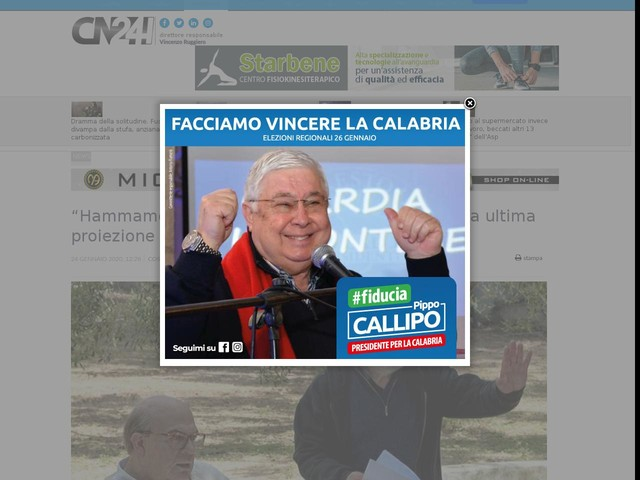 """""""Hammamet"""": Gianni Amelio al Citrigno con la sua ultima proiezione"""