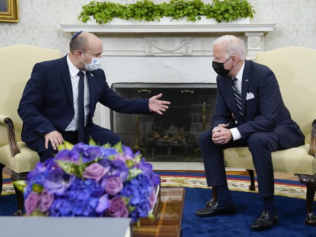 Biden si schiera con Bennett, non c'è una soluzione per i palestinesi
