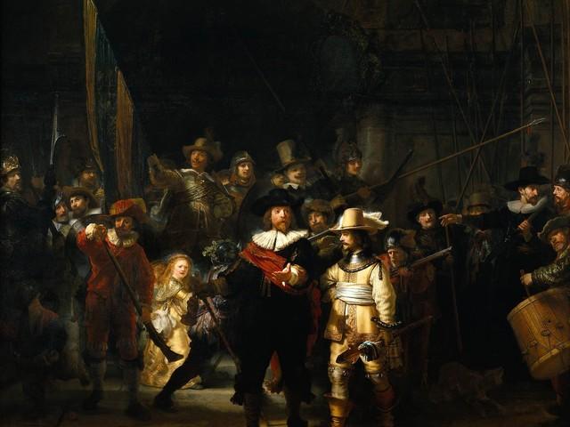 """Il Rijksmuseum apre online. Con tour virtuali """"dentro"""" la Ronda di Notte di Rembrandt"""