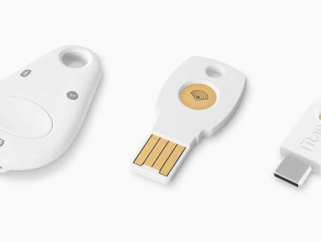 Le Titan Security Key di Google disponibili all'acquisto in Italia