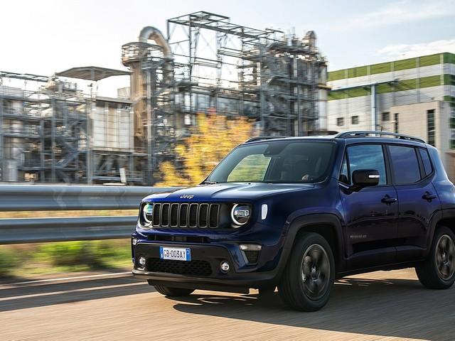 Jeep Renegade: con il Model Year 2021 debutta la versione 80° Anniversario
