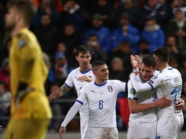 Liechtenstein-Italia, le pagelle di CalcioWeb: Cristante in stile il Padrino, Mancini partoriente [FOTO]