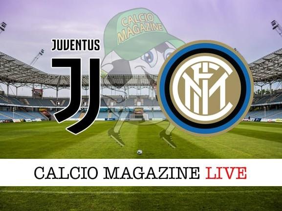 Juventus-Inter cronaca diretta, risultato in tempo reale