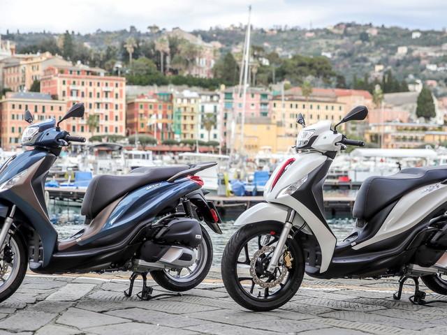 Piaggio rinnova Medley, lo scooter di fascia alta
