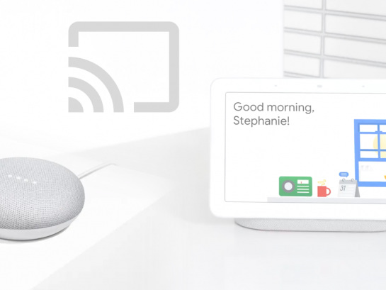 È finalmente possibile trasferire lo streaming fra diversi Google Home o Chromecast