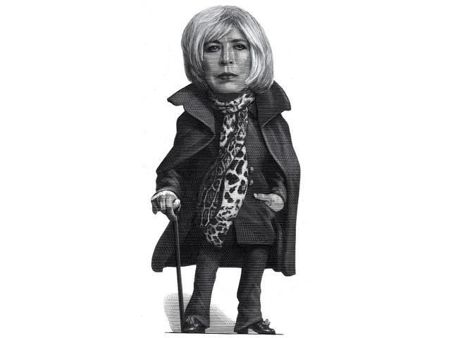 Marianne Faithfull ha molto vissuto