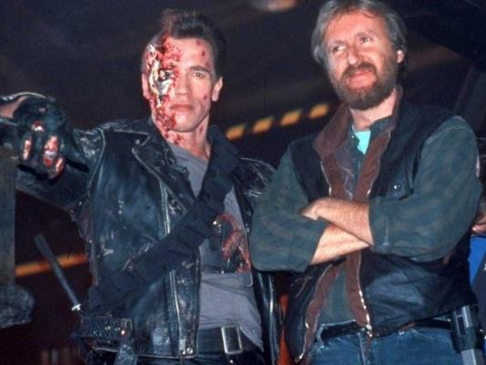 Terminator: Arnold Schwarzenegger svela il primo storyboard di James Cameron