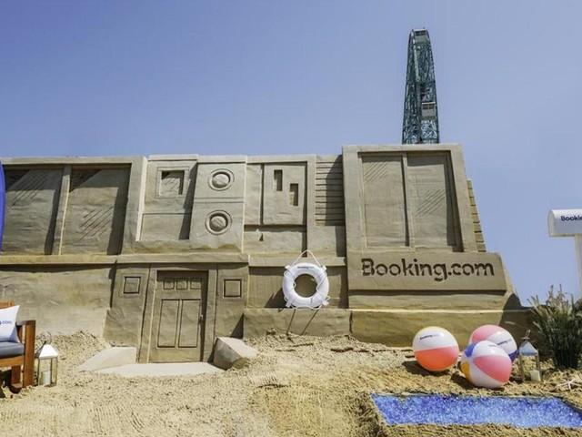 Ora a New York si può dormire in un castello di sabbia