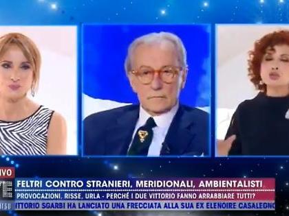 """Vittorio Feltri dopo Live-Non è la D'Urso contro Luxuria e D'Eusanio: """"Pollaio, povere cretine"""""""