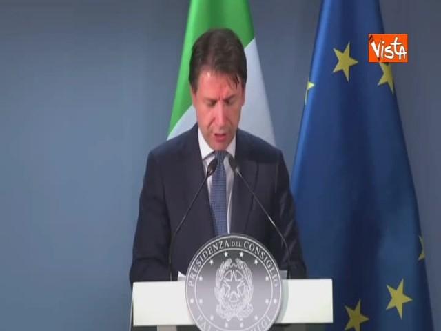"""Manovra, Conte: """"Contante a 2 mila euro non criminalizza nessuno"""""""