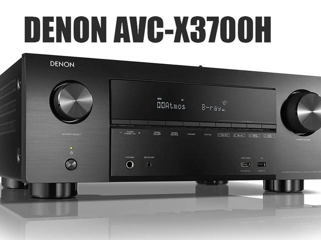 Denon introduce AVC-X3700H: l'amplificatore a 9.2 canali con HDMI 2.1