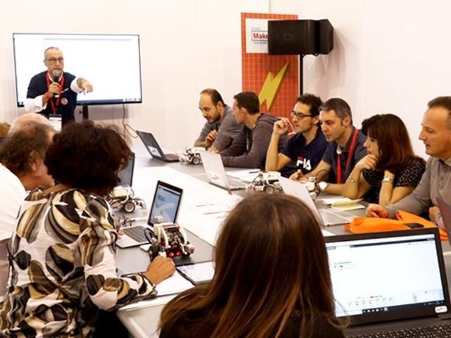 Formazione certificata e gratuita a Maker Faire 2019 dal 18 al 20 ottobre a Roma