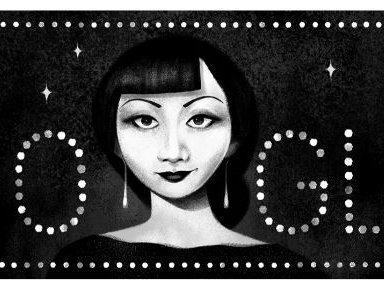 Un doodle di Google in onore di Anna May Wong