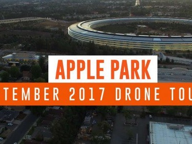 Apple Park sempre più completo nel video di settembre 2017