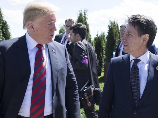 Quelle pressioni di Macron dietro l'endorsement di Trump a Conte