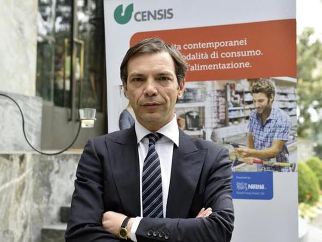 Valerii del Censis alla presentazione del 'Rapporto sull'economia'