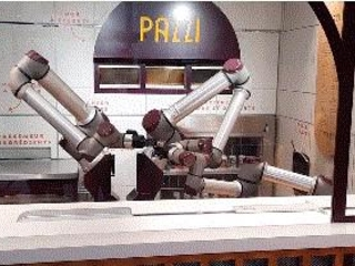 L'IA in cucina: dal gira hamburger alla pizzeria francese gestita da robot