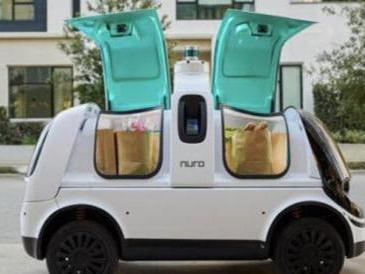 Nuro, il veicolo senza conducente che negli Usa consegna il cibo a domicilio