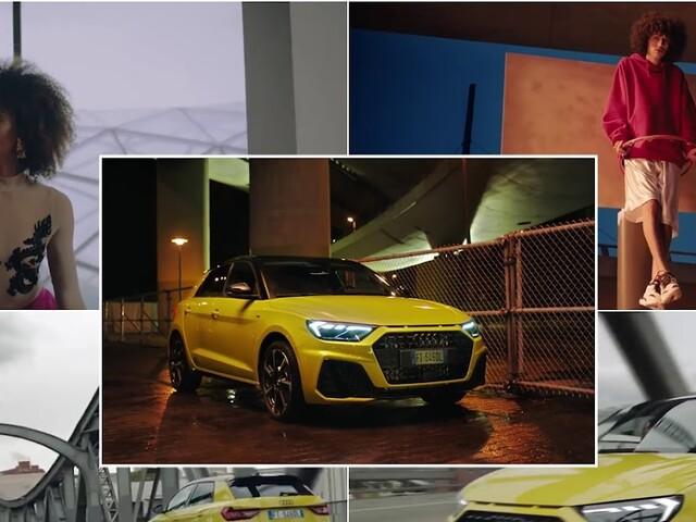 Pubblicità nuova Audi A1 Sportback 2018 con canzone rap