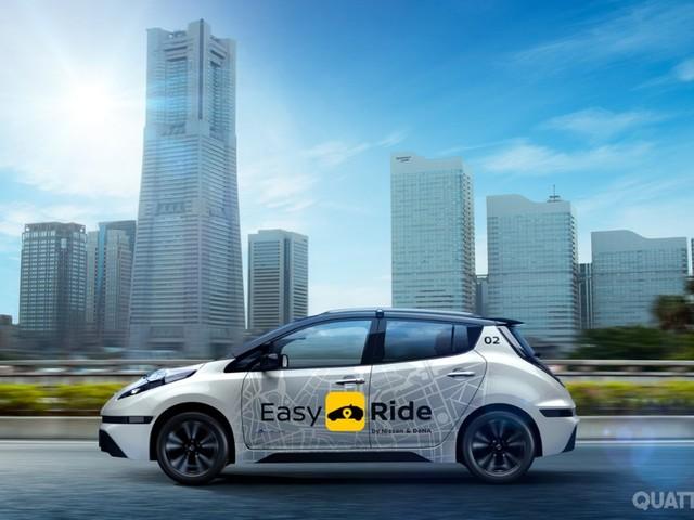 Nissan Easy Ride - I robo-taxi autonomi sono pronti al debutto