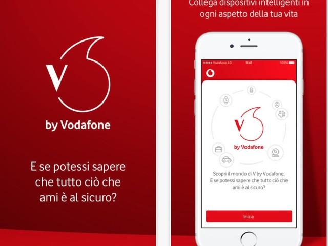 Vodafone entra nell'Internet of Things Consumer con il lancio di V by Vodafone