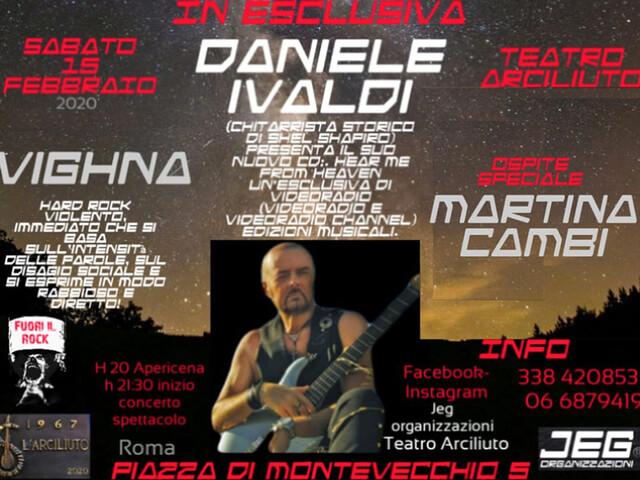 @TeatroArciliuto | Sabato 15 Febbraio 2020 Fuori il Rock