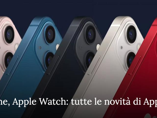 iPad, iPhone, Apple Watch: tutte le novità di Apple per il 2021