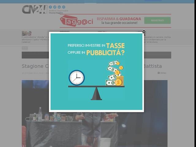 Stagione Cilea, successo per lo show di Maurizio Battista
