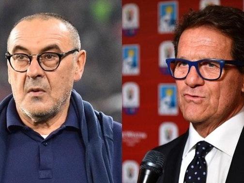 Capello-Sarri, botta e risposta su Sky: ''Forse ho visto un'altra partita''