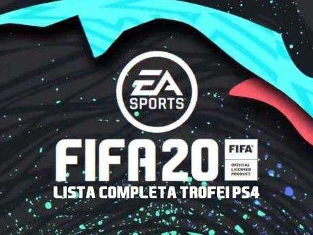 Lista Completa Trofei Fifa 20