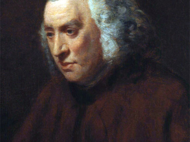 Aforisma di Samuel Johnson