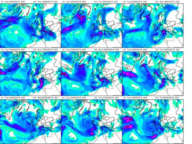 Previsioni Meteo Aeronautica Militare: forte maltempo da Nord a Sud, il bollettino fino al 18 novembre