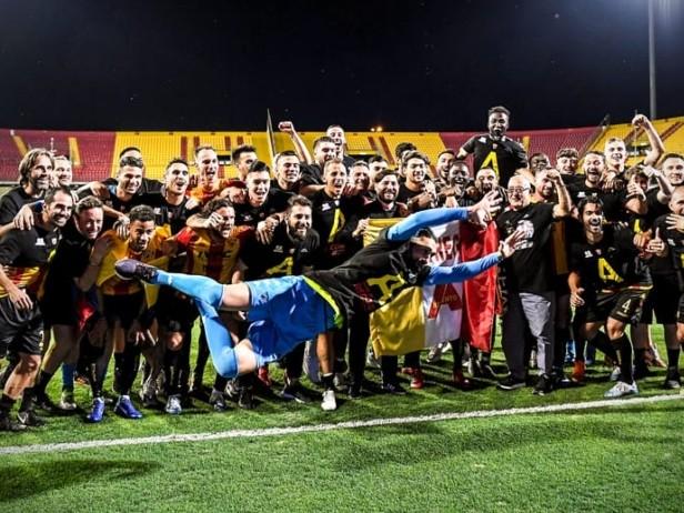 Serie B, i risultati della 31^ giornata: il Benevento vince ed è promosso in Serie A