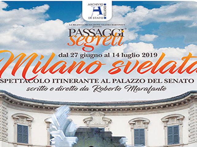 Martinitt: fuori stagione, fuori teatro con gli inediti PASSAGGI SEGRETI. Spettacolo itinerante al Palazzo del Senato, dal 27/6 al 14/7.