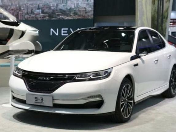 Nevs 9-3, la Saab torna in versione elettrica