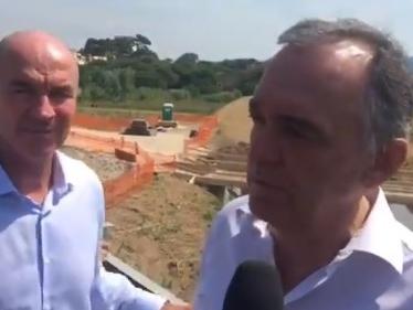 Nel post alluvione sono 75 i milioni di euro investiti per la messa in sicurezza del livornese