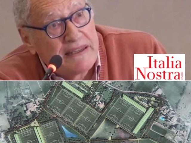 Minacce a Leonardo Rombai per il ricorso contro il Viola Park di Bagno a Ripoli, la solidarietà di Italia Nostra e Legambiente