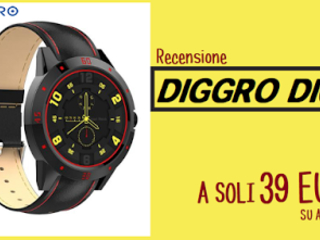 Recensione Diggro DI02: lo Smartwatch economico e funzionale
