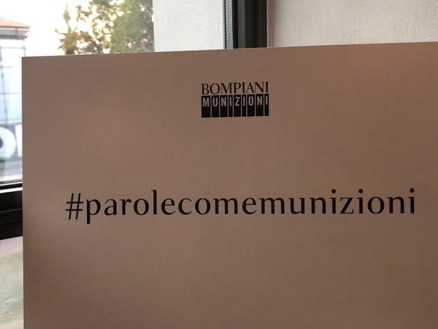 #ScrittoriInAscolto - Roberto Saviano presenta Munizioni, la nuova collana da lui diretta per Bompiani