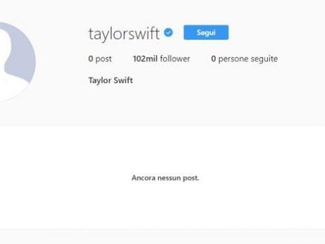 Blackout sui social di Taylor Swift, parte la nuova era discografica con l'annuncio di album e primo singolo?
