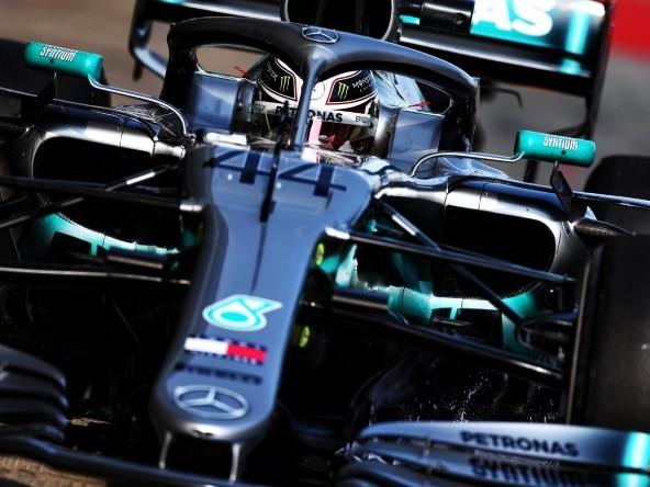 """Hamilton: """"Mercedes W10 tutta da scoprire"""""""