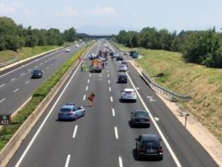 Gravissimo incidente stradale in provincia di Frosinone Tre morti tutti calabresi, padre, madre e bimbo di 5 mesi